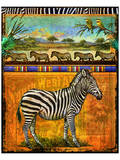Zebra I Kunstdrucke von Chris Vest