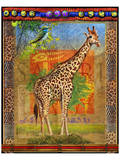 Giraffe I Poster by Chris Vest