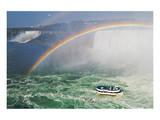 Niagara Falls Poster by Mike Grandmaison