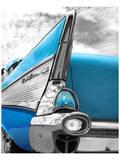 Azul Pôsters por Richard James