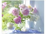 Peony Bouquet Poster von Judy Stalus