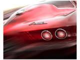 Richard James - Corvette El Diablo Plakát