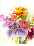Splendeur I Poster par Judy Stalus