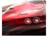Corvette El Diablo Posters av Richard James