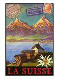 Switzerland, Swiss Mountains, Matterhorn Posters by Chris Vest