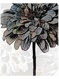 Ink Zinnia II Print by Christine Zalewski