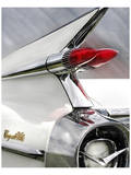 White Cadillac Prints by Richard James