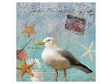 Gull Beach II Prints by Rick Novak