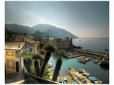 Camogli Harbour Print by Richard Desmarais