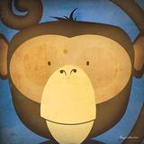 Monkey WOW Reprodukcje autor Ryan Fowler