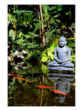 Buddha Garden Poster by Jan Michael Ringlever