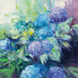 Bright Hydrangea III Posters by Julia Purinton