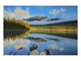 Pyramid Lake Sunrise Art by Mike Grandmaison