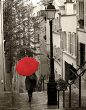 Paris Stroll II Print by Sue Schlabach
