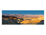 Zabriskie Point, Death Valley, Panoramic Duo I Print by Richard Desmarais