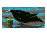 Crow II Prints by Penny Keenan
