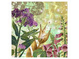 Foxglove Meadow II Posters by Roberta Collier Morales