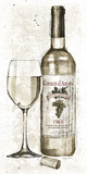 Pencil Wine II Print by Avery Tillmon