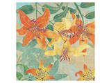 Tiger Lilies Summer Prints by Roberta Collier Morales