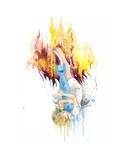 Falling Angel Edition limitée par Lora Zombie