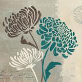 Chrysanthemums II Poster by Jim Wellington