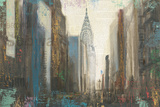 Urban Movement I NY Prints by Myles Sullivan