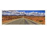 Highway to Monument Valley AZ Prints by Richard Desmarais