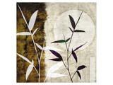 Bamboo Moon I Print by Christine Zalewski