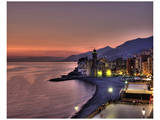 Camogli Sunset I Prints by Richard Desmarais