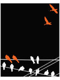 Abstract Birds I Posters by Irena Orlov