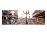 Alien Tourist in Venice Prints by Richard Desmarais