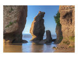 Hopewell Rocks Print by Mike Grandmaison