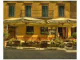 Montalcino Café Art by Richard Desmarais