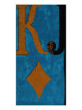 Poker King John Poster von Parker Greenfield