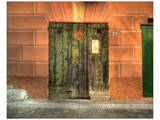 Camogli Green Doors Prints by Richard Desmarais