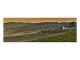 Tuscany Val d'Orcia Panorama Posters by Richard Desmarais