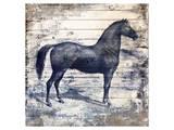 Black Horse I Print by Irena Orlov