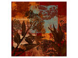 Autumn Whispers I Print by Roberta Collier Morales
