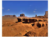 Monument Valley J. Ford Point Posters by Richard Desmarais