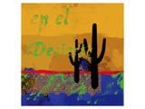 Southwestern Duel Art by Parker Greenfield