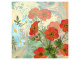 Summer Poppies II Posters by Roberta Collier Morales