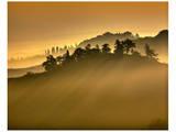 Tuscan Silhouette Landscape Posters by Richard Desmarais