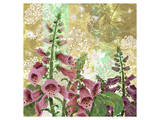Foxglove Meadow I Prints by Roberta Collier Morales
