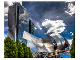 Jay Pritzker Pavillion Prints by Michael Polk