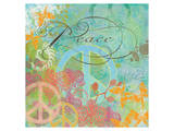 Peace Garden I Print by Alan Hopfensperger