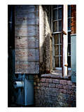 River Walk Window Print by Doug Nelson
