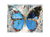 Urban Camo Butterfly Art by Parker Greenfied