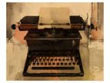 Typewriter Print by Irena Orlov