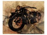 Old Motorcycle Art par Irena Orlov