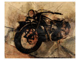 Old Motorcycle Posters by Irena Orlov